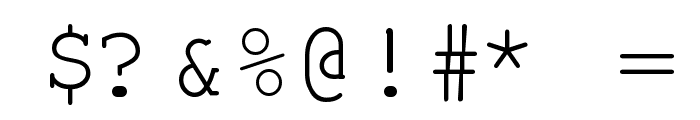 Kuriero Esperanto Normala Font OTHER CHARS