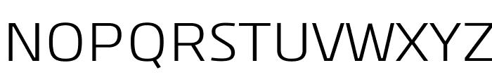 Kuro-Regular Font UPPERCASE