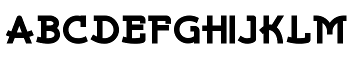 Kurvaceous NF Font UPPERCASE