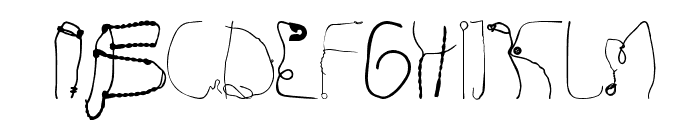 Kurzwaren Font UPPERCASE