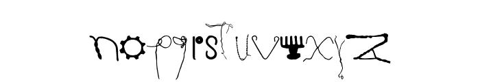 Kurzwaren Font LOWERCASE