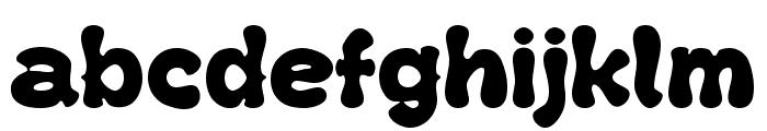 Kush Fat Font LOWERCASE