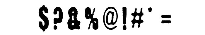 Kuumotus Font OTHER CHARS