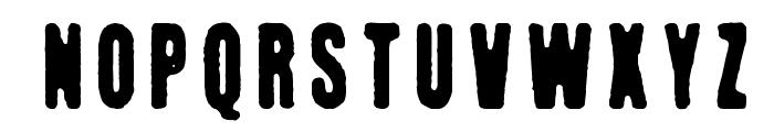 Kuumotus Font UPPERCASE