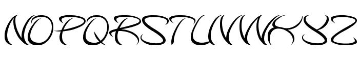 kungfu master Font LOWERCASE