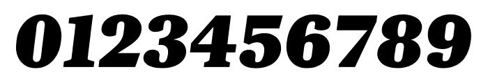 Kunstuff Black Italic Font OTHER CHARS