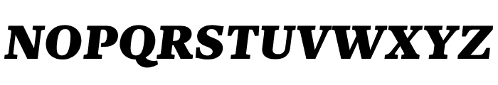 Kunstuff Black Italic Font UPPERCASE