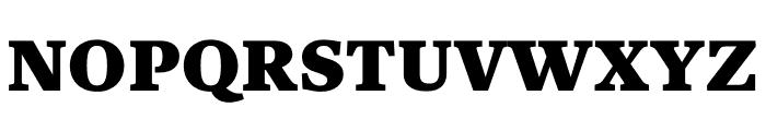 Kunstuff Black Font UPPERCASE