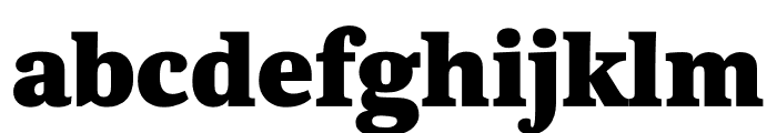 Kunstuff Black Font LOWERCASE