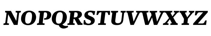 Kunstuff Bold Italic Font UPPERCASE
