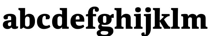 Kunstuff Bold Font LOWERCASE