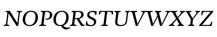Kunstuff Italic Font UPPERCASE