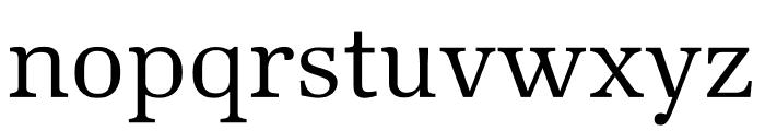 Kunstuff Light Font LOWERCASE