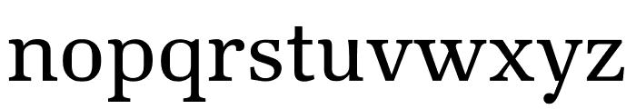 Kunstuff Regular Font LOWERCASE