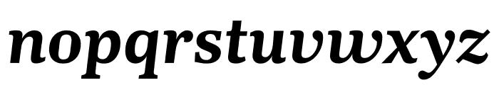 Kunstuff Semibold Italic Font LOWERCASE
