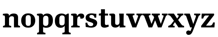 Kunstuff Semibold Font LOWERCASE