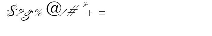 Kuenstler Script No2 Bold Font OTHER CHARS
