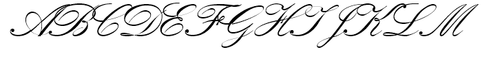 Kuenstler Script No2 Bold Font UPPERCASE