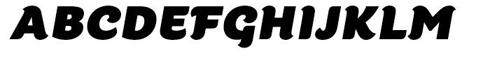 Kumiz FY Bold Italic Font UPPERCASE