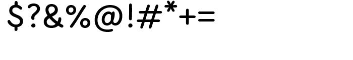 KunKun Regular Font OTHER CHARS