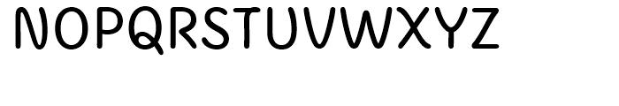 KunKun Regular Font UPPERCASE