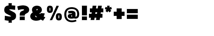 Kuro Black Font OTHER CHARS