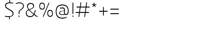 Kuro Light Font OTHER CHARS
