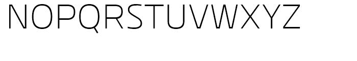 Kuro Light Font UPPERCASE