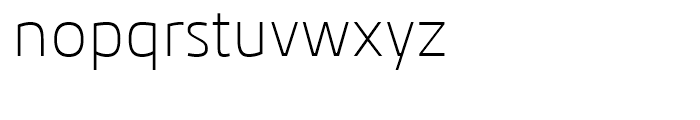 Kuro Light Font LOWERCASE