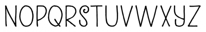 Kunstschau Regular Font UPPERCASE