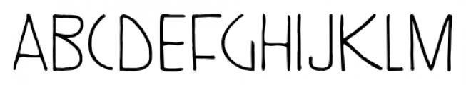 Kunstschau Regular Font LOWERCASE