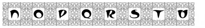 Kudos Kaps Four NF Font LOWERCASE