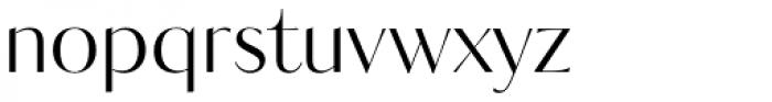 Kudryashev Headline Sans Font LOWERCASE