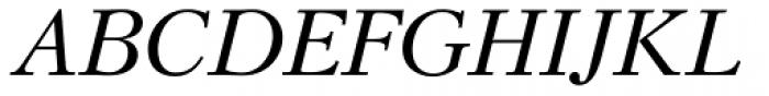 Kudryashev Italic Font UPPERCASE