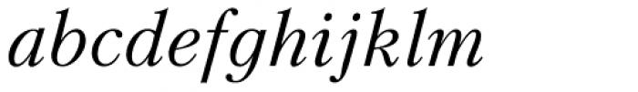 Kudryashev Italic Font LOWERCASE