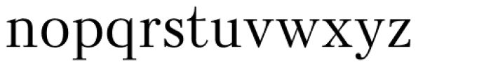 Kudryashev Regular Font LOWERCASE