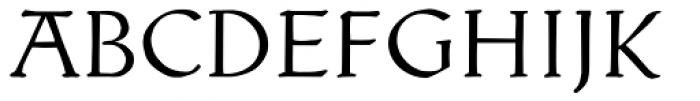 Kuehne-Antiqua AR Alt Font UPPERCASE