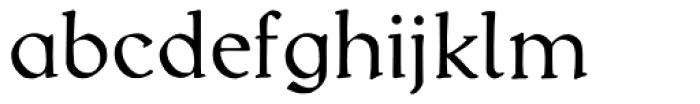 Kuehne-Antiqua AR Alt Font LOWERCASE