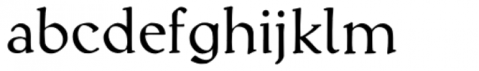 Kuehne-Antiqua AR Font LOWERCASE