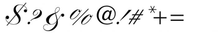 Kuenstler Script Com Black Font OTHER CHARS