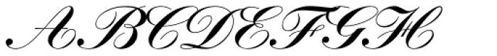 Kuenstler Script Com Black Font UPPERCASE
