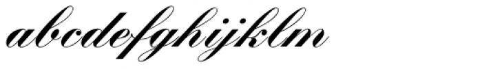 Kuenstler Script Com Black Font LOWERCASE