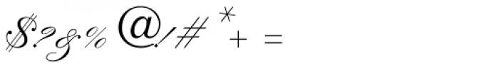 Kuenstler Script LT Std 2 Bold Font OTHER CHARS
