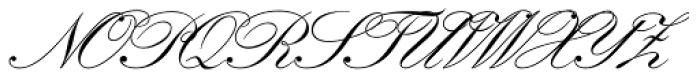 Kuenstler Script LT Std 2 Bold Font UPPERCASE