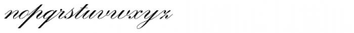 Kuenstler Script LT Std 2 Bold Font LOWERCASE
