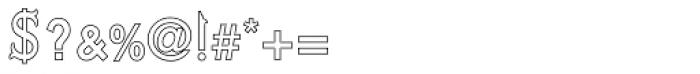 Kufi Outline Regular Font OTHER CHARS
