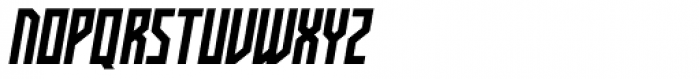 Kufica Bold Italic Font UPPERCASE