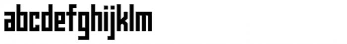 Kufica Bold Font LOWERCASE