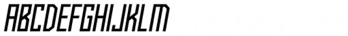 Kufica Regular Italic Font UPPERCASE
