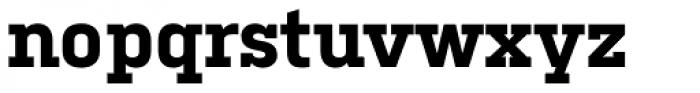 Kulturista Bold Font LOWERCASE